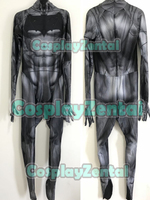 3D Print Batman Dawn of Justice v1 Costume Spandex Batman 2018 Newest Custom Made Superhero Cosplay Zentai Suit