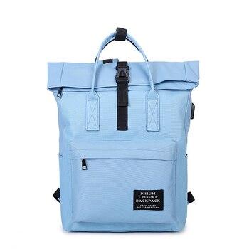 New 2019 Women External USB Charge Backpack Male Mochila Escolar Girls Laptop Canvas Backpack School Bags Backpack for teens women external usb charging casual backpack canvas backpack male mochila escolar girls laptop school bags backpack for teens