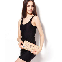 Summer Bodycon Dress Mini Tank Top Dress Club Sexy Slim Sleeveless Sundress Slim Skinny Office Ladies Dresses Black JH814459(China)