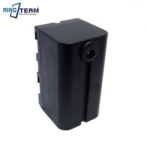 Image 5 - NP F750 فارغة الدمية البطارية يستبدل BB6 NP F970 NPF970 صالح LED الفيديو الضوئي لوحة مراقبة DV 96 DV 112 DV 160V DV 216V Z كاميرا E2