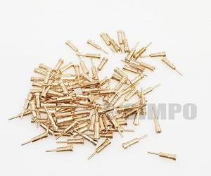 Image 3 - 1000 шт круглый штырь, гнездо штыря для штыря Dim0.45 0,6 мм, без пластика для 2,54 отверстия штыревой разъем