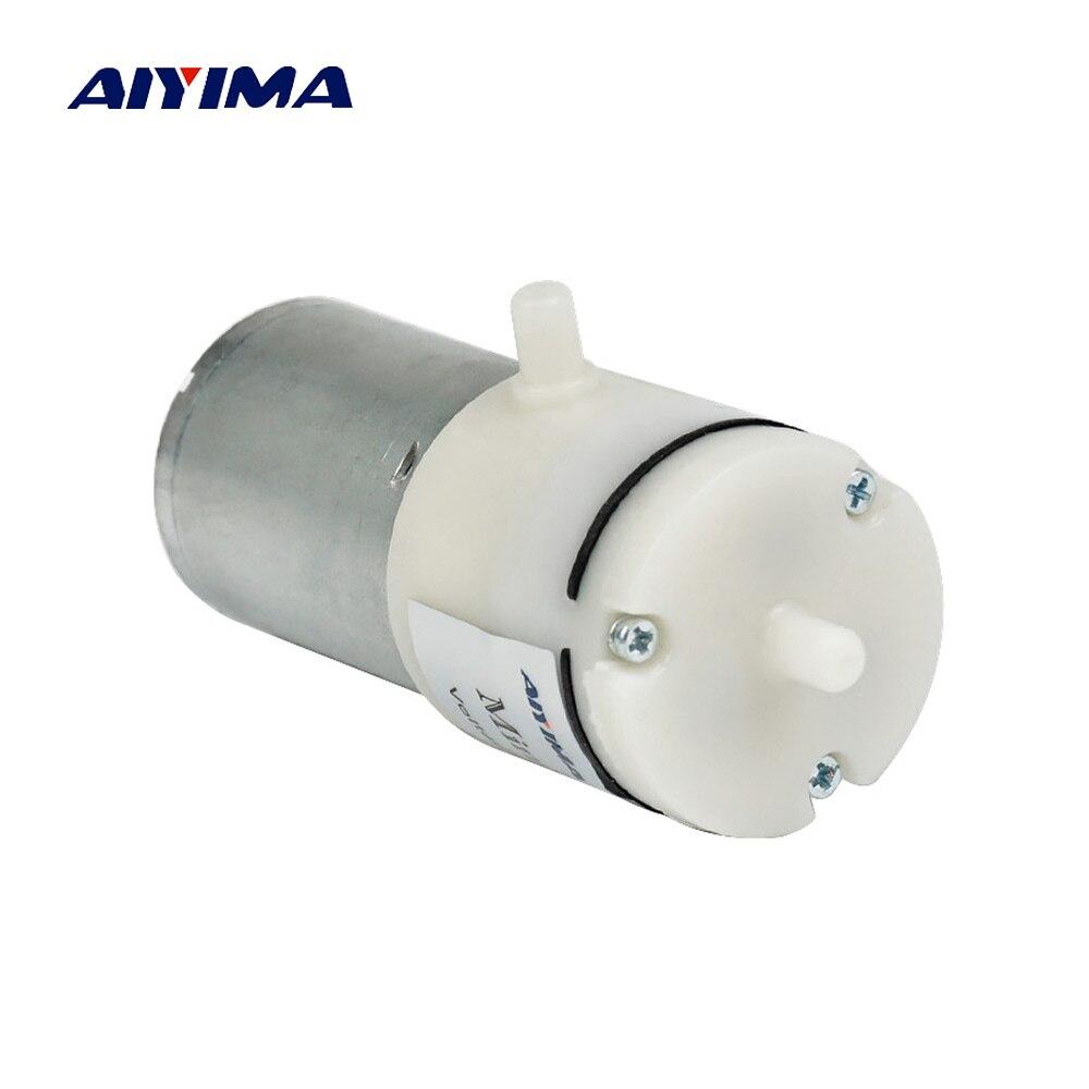 AIYIMA DC 12 v Micro Pompa A Vuoto Elettrica Pompe Mini Pompa di Aria di Pompaggio Booster Per Strumento di Trattamento Medico