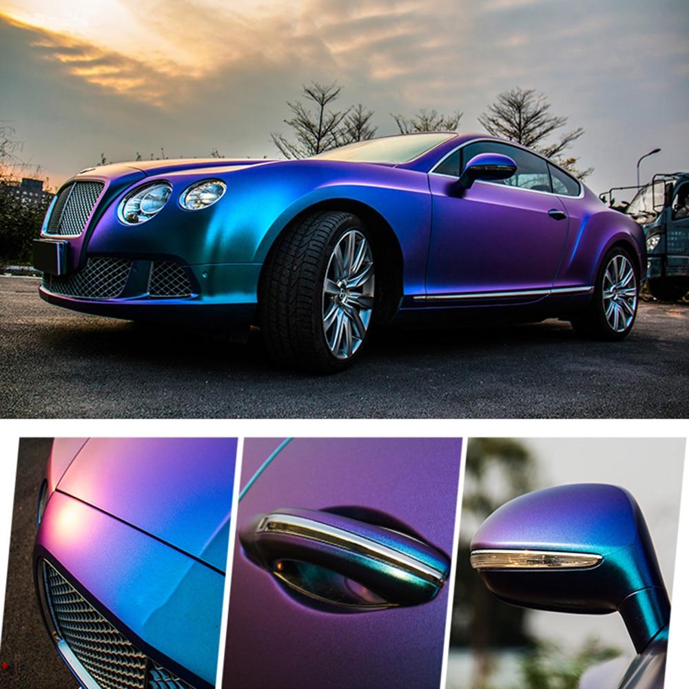 10*100 см Автомобильная синяя до фиолетовая жемчужная виниловая пленка с эффектом Хамелеона, пленка хамелеон, наклейки для автомобилей, автомобилей, мотоциклов, стайлинга автомобилей, Decaration