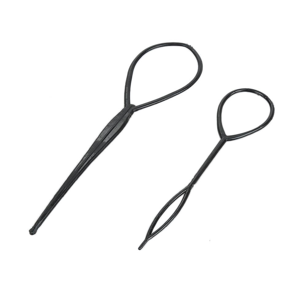 2 шт., пластиковые зажимы для волос, 1 пара