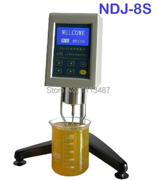 Brand New Digital Rotational Rotary Viscometer Viscosity Tester Meter NDJ-8S rotary viscosimeter viscometer viscosity tester meter ndj 1