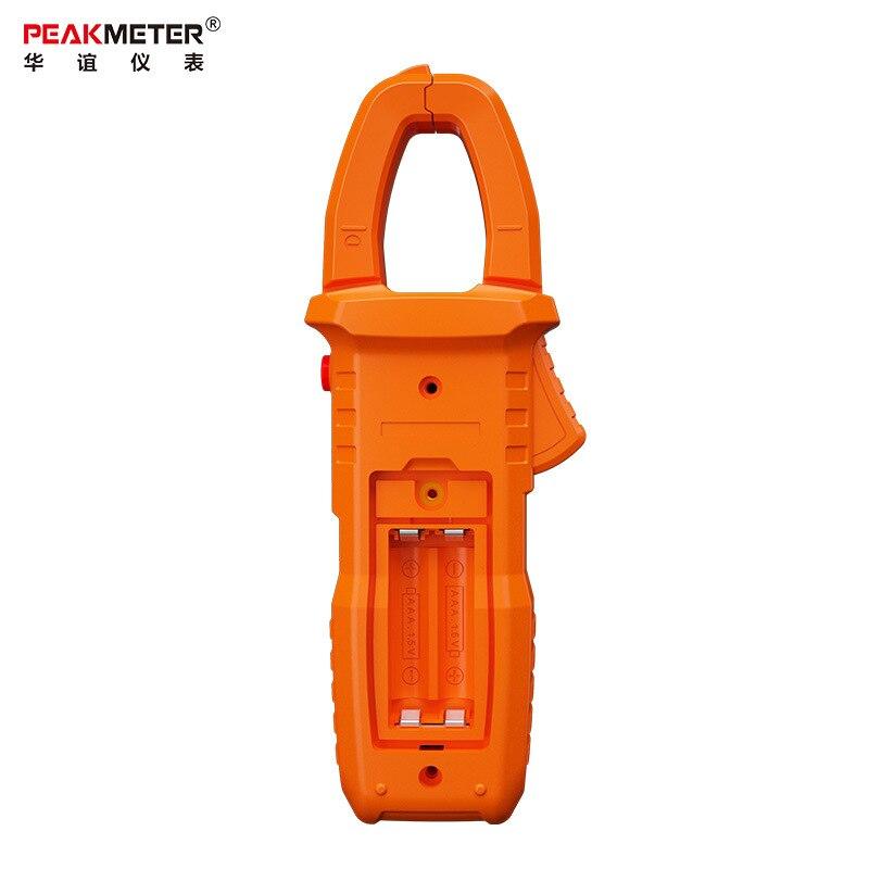 multímetro pinça de corrente automática voltímetro amperímetro ohmmeter ncv temp capa tester