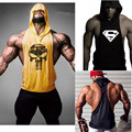 Nova Crânio Hoodies Sportwear Stringer Stringer Musculação ZYZZ Parte Superior Do Tanque de Fitness Da Marca Do Hoodie Homens Pullover Roupas de Algodão Com Capuz