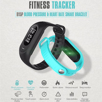 Hot Sprzedaż Moda Ciśnienie Krwi Inteligentną Bransoletkę Opaski Tętna Tracker Inteligentny Zespół Aktywności Tracker Passometer Inteligentny Nadgarstki