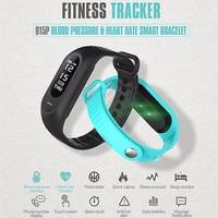 Venta caliente de la manera Presión arterial Smart pulseras pulsera heart rate Tracker Smart Band activity Tracker passometer Smart muñecas