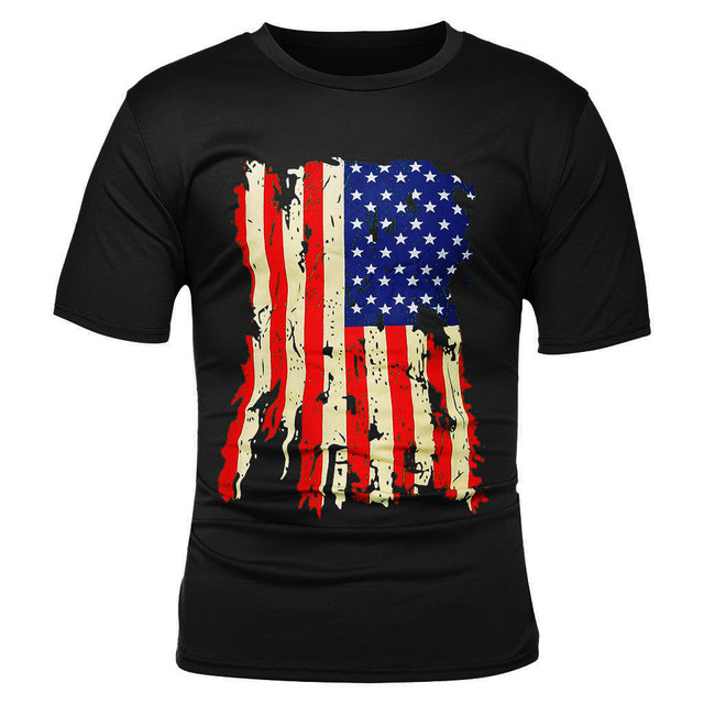 Men's Summer Flag Print...