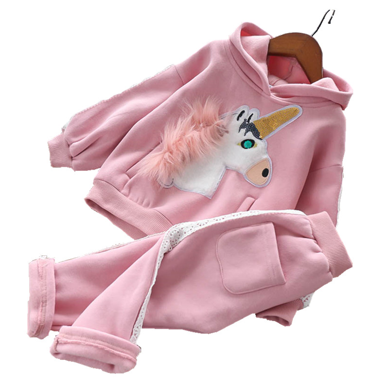 autumn Winter baby clothes Suit For Girl Clothes Sets pink kids Sport Suit For Girls Jacket New Year Costume christmas clothes 2017 new year kid baby boys girls christmas costume santa claus suit christmas clothes tops pant 2pcs boys girl kids clothes