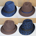 Winter Wool Fedoras Hats For Men Chapeu Masculino Felt Panama Hats Male Trilby Caps Free Shipping PWI-008