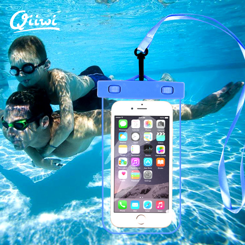 Universal Waterproof Phone Case For Iphone 6/6s/6plus/7/7plus huawei p9 Sumsung Swimmimg Diving Underwater Sport Accessories