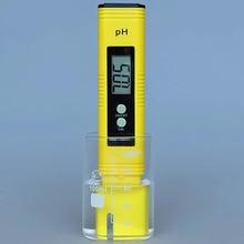 1Pc Portable PH Meter Pocket Meter Portable Meter Digital Quality Measuring Range 0-14 PH for Aquarium Water Laboratory Floor lb50t portable brix meter fruit sugar measuring instrument with measuring range 0 50