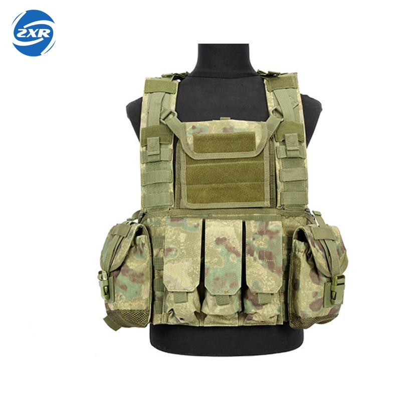 Military Tactical Vest Body Molle Hunting Vest Cs Outdoor Men's Vest With Hydration Pocket Holder Tactical Camouflage Waistcoat guess w80032l1