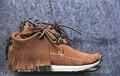 Зима Ручной Работы Кисточкой Мужчины Обувь Yeezus Kanye West обувь FBT SHAMEN-FOLK Платформа Сексуальная платформа мужчины Люксовый Бренд Обувь