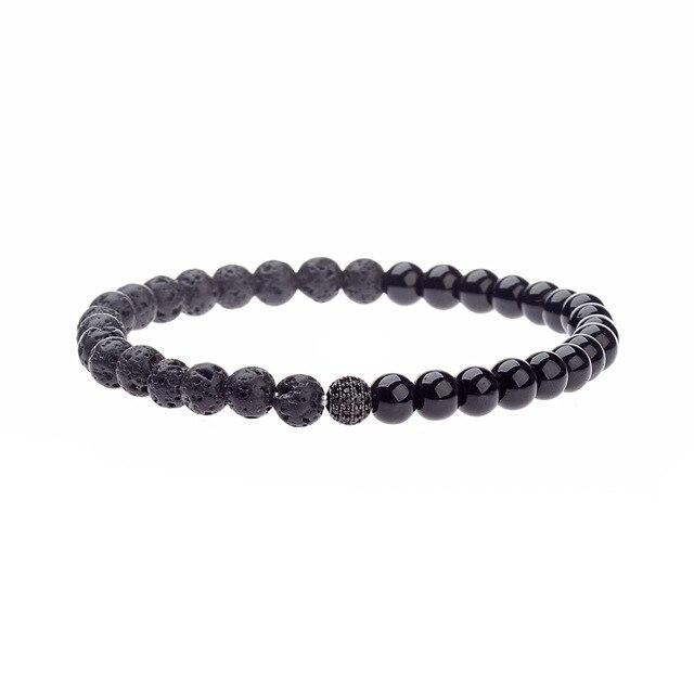 Charm Men Bracelet 8mm...