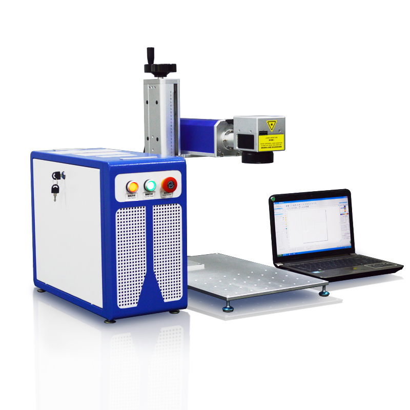 Aukštos kokybės AMAN 10W 20W 30W pluošto lazerinis metalinių - Medienos apdirbimo įranga - Nuotrauka 3