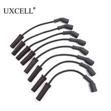 UXCELL 8 шт. 671-8062 автомобильный двигатель 7 мм кабель свечи зажигания провода зажигания для Chevrolet для GMC для Cadillac Для Hummer 17 см