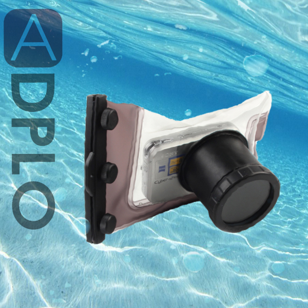Nereus underwater Waterproof Camera Housing Case DC WP500 for font b digital b font camera
