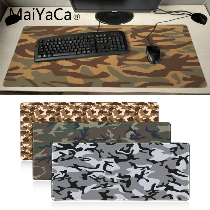 MaiYaCa New Design Cool Camouflage High Speed New Mousepad Large Gaming Mouse Pad Lockedge Mouse Mat Keyboard Pad
