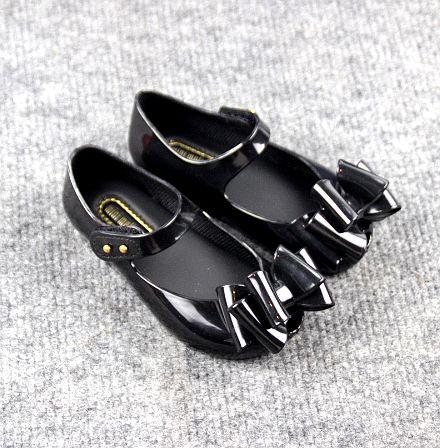 hot 2018 New Mini melissa Design Summer Girls Shoes Breathable Sandals Children Sandals Lovely Mini melissa Sandals