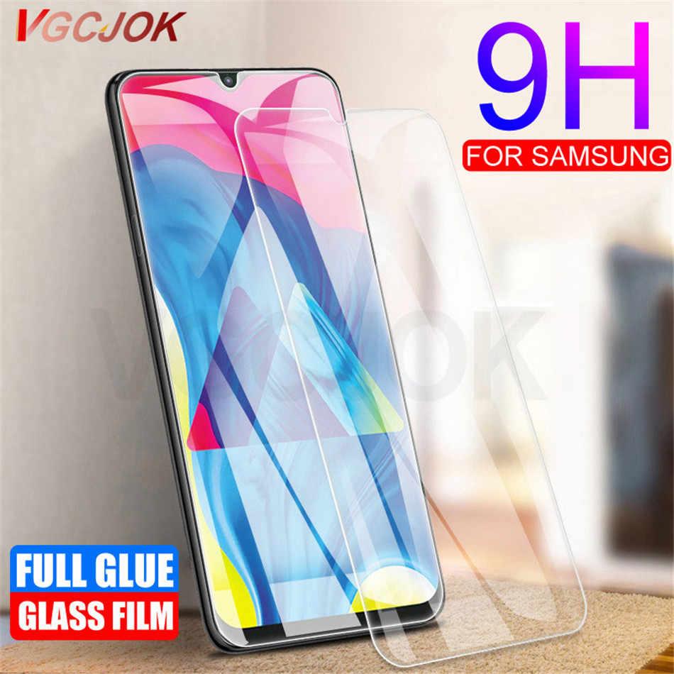 2.5D 9H Screen Protector For Samsung Galaxy A50 Tempered Glass A70 A40 A30 A10 A20 A80 A60 A90 A40S M30 M10 M20 Phone Glass Film