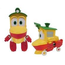 12 cm Alf Kay Transformasi Dinamis Kereta Keluarga Deformasi Robot Kereta Kereta Mobil Action Figure Mainan Boneka untuk Anak-anak Laki-laki hadiah