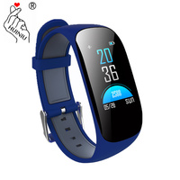Sports Smart Bracelet Fitness Tracker Blood Oxygen Monitor GPS Wristband Step Counter Push Message Watch pk fit bit xiami band