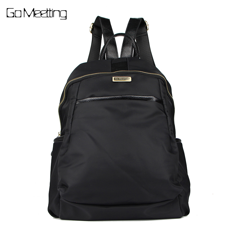 Go Meetting Fashion Women waterproof oxford backpack Famous Designers Brand shoulder bag leisure travel backpacks for girl 2017 fashion women waterproof oxford backpack famous designers brand shoulder bag leisure backpack for girl and college student