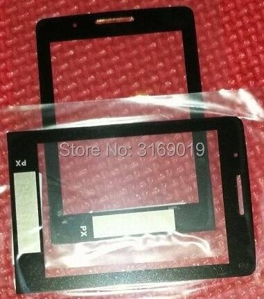Con il numero di inseguimento, OBIETTIVO Originale per Philips E570 cellulare di vetro per Xenium CTE570 LCD cellulare