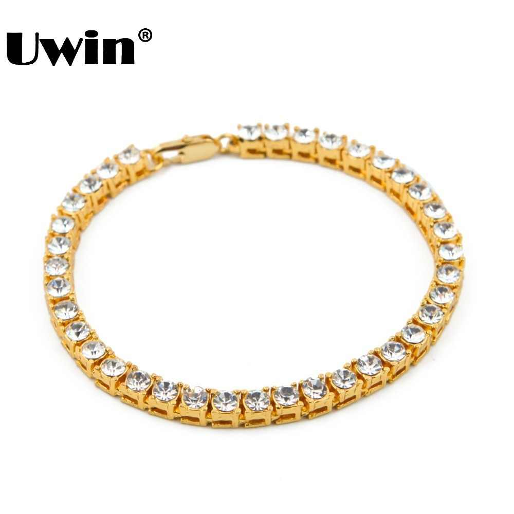 79c6078f81feb Detail Feedback Questions about Uwin Men Hip Hop Iced Out Bracelet ...