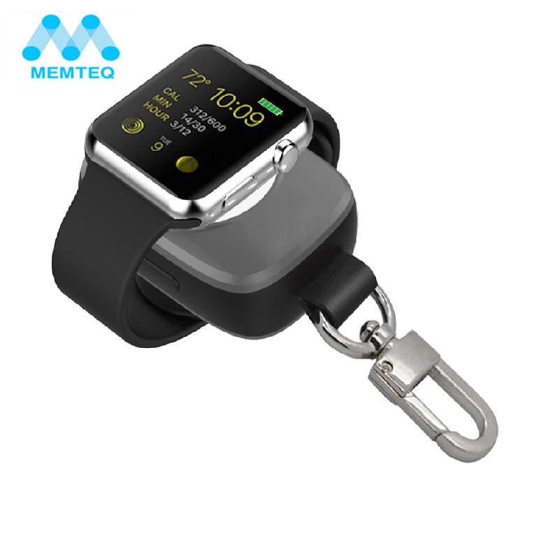 MEMTEQ Портативный Беспроводной Зарядное устройство для Apple Watch Magnetic Charging Мощность банк Зарядное устройство для Apple Watch 38 мм для путешествий