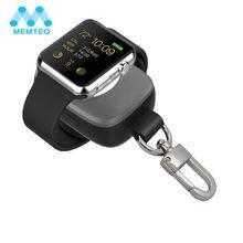 Memteq Портативный Беспроводной Зарядное устройство для Apple Watch Magnetic charging Запасные Аккумуляторы для телефонов зарядное устройство для Apple Watch 38 мм для путешествий