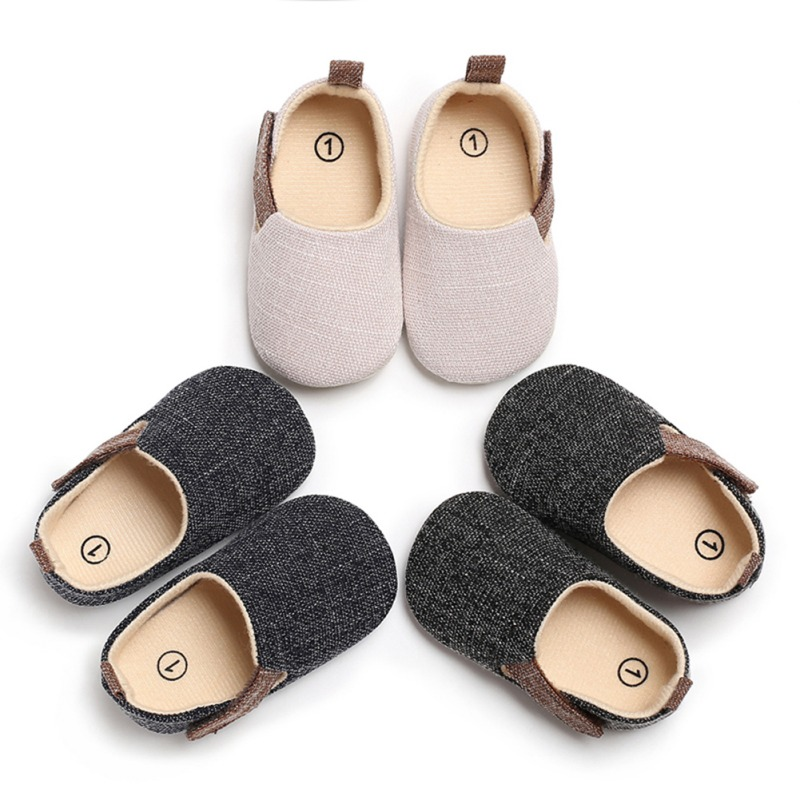 Lurryly Lovely Toddler First Walkers Baby Shoes Round Toe Flats Soft Slippers Shoes