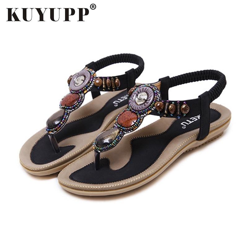 5d83f273314d KUYUPP Bohemian Style Γυναικεία σανδάλια καλοκαίρι Καλοκαιρινά ...