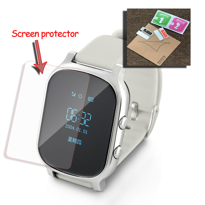 YH Glass Screen Film Protector for Q50 Baby Kids Child elder Smart Watch Q50 T58 Y3 Smartwatch Glass Screen Film Protector baby kids child smart gps watch universal protection tempered smartwatch glass screen film protector case for q50 t58 y3 2pcs