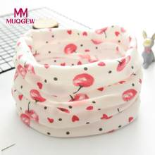 New Autumn Winter Boys Girls Baby Apple Scarf Cotton O Ring Neck Scarves Baby Scarf for Boys Girls Baby Bibs Newborn Feeding(China)
