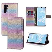 PU Flip Case For Huawei P30 Pro Lite Mate 20 Honor 10 Leather Kickstand Cover