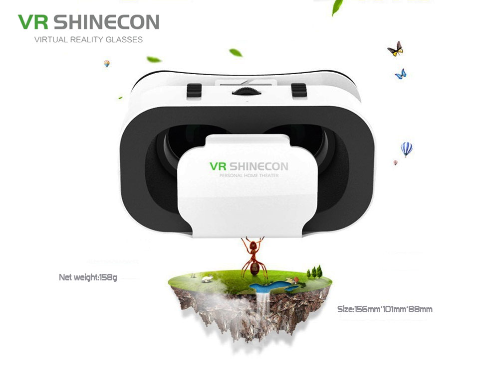Vr Shinecon G05A 3D VR Glasses 5