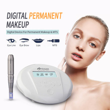 Hhigh qualität Permanent Make-Up maschine Artmex V6 augenbraue Lippe Dreh Pen V6 Tattoo Maschine MTS PMU System mit 10 stück tattoo needl