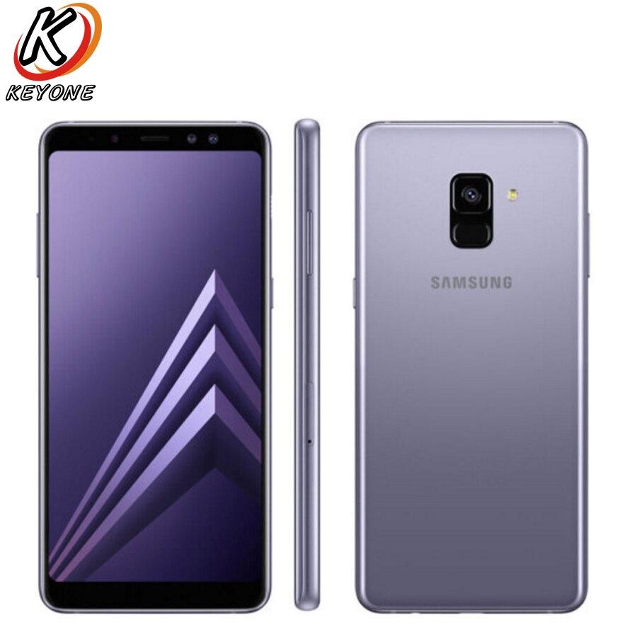 "New Samsung Galaxy A8 Plus D/S A730FD Mobile Phone 6.0"" 4GB RAM 64GB ROM Octa Core 3500mAh Dual Front Camera Smart Phone"