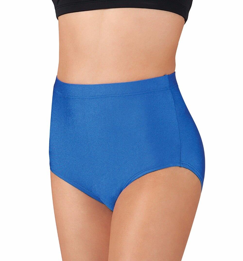 Girls Cheer Brief Womens Black Jazz Spandex Dance Shorts Lycra Ballet Workout Excerise Dance Briefs Athletic Dancer Underwear