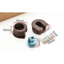 100PCS/LOT Cam Lock Furniture Kitchen Cabinet Shelf Support