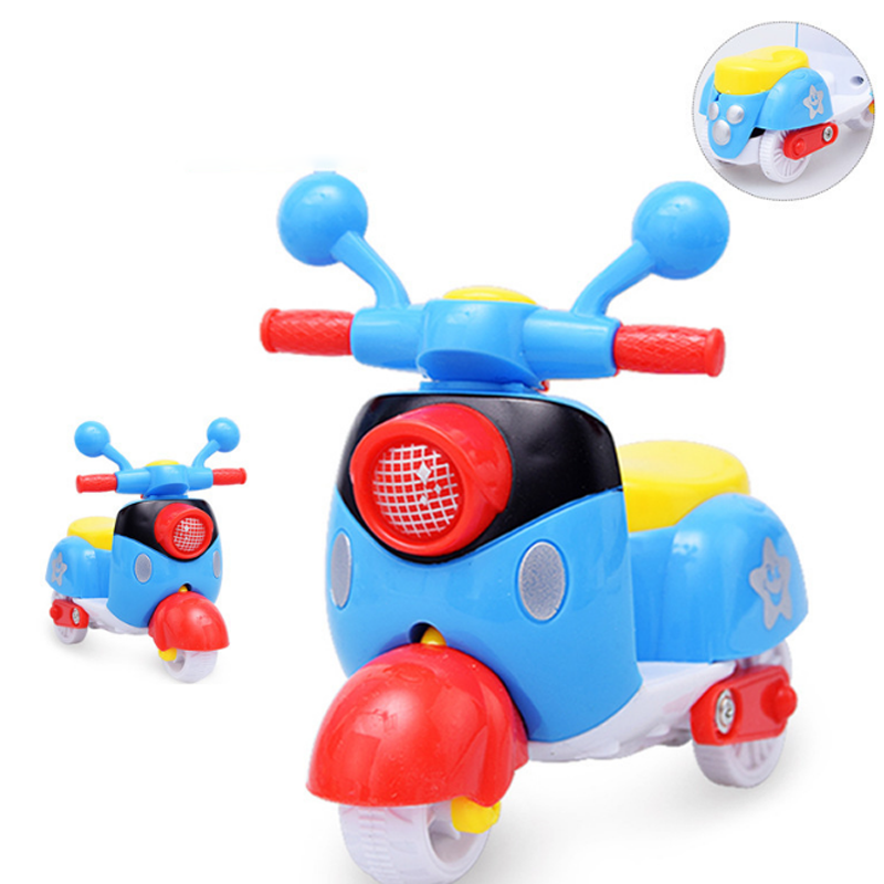 1 Pc Kawaii Cartoon Inertia Toy Motorcycle <font><b>Diecast</b></font> Toys Children Gifts Vehicle Models image