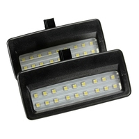 Universale 12V Specchio Visiera LED Light Lampad Per For BMW F10 F11 F07 F01 F02 F03