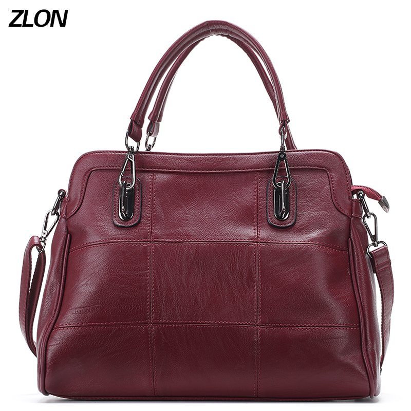 ZLON 100% High Quality Handbag Women Large Bucket Shoulder Bag Female Leather Ladies Tote Bag FashionTop-handle Bag N108 2018 new women bag ladies shoulder bag high quality pu leather ladies handbag large capacity tote big female shopping bag ll491