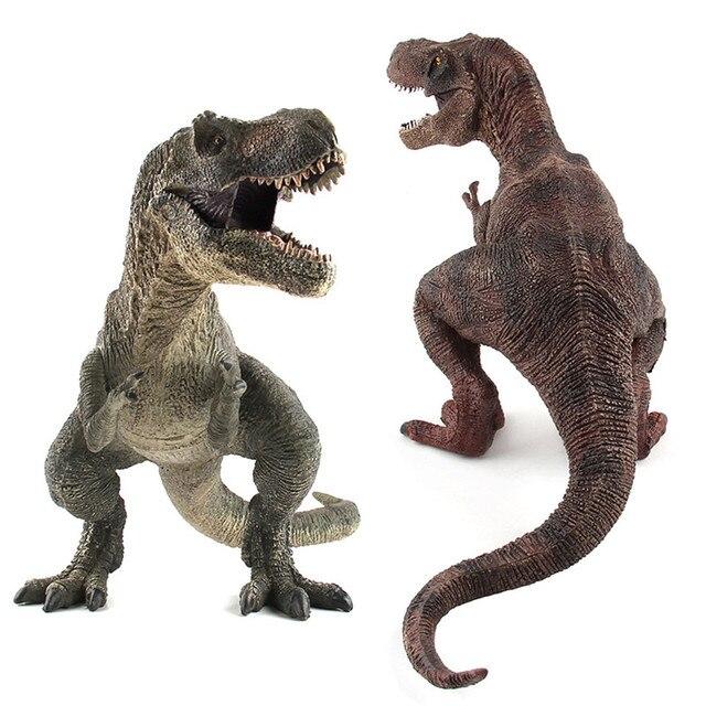 Figuras de ação & Toy Jurássico Tiranossauro Dragão Coleção Modelo Coleção de Brinquedos do Dinossauro Modelo Animal Brinquedos para As Crianças Presentes