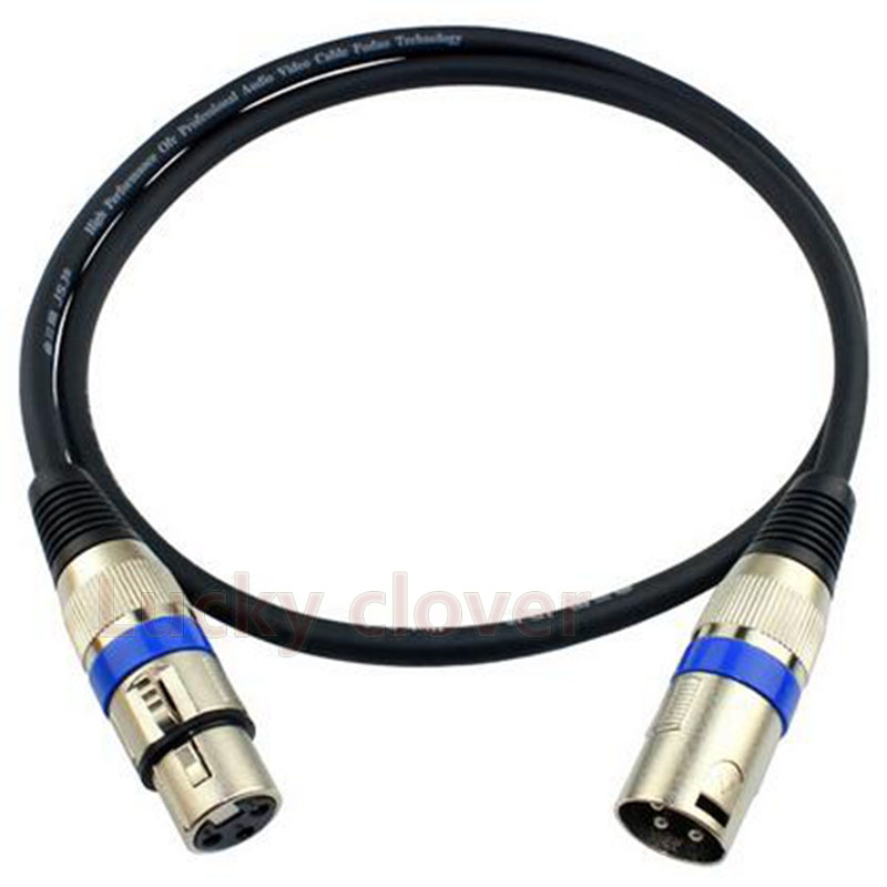 online get cheap xlr mic cable wiring aliexpress com alibaba group 1pcs length 3m 3 pin xlr audio cable connector mic male to female plug wire