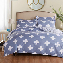 UNIHome textile,Reactive Print 4Pcs bedding sets luxury include Duvet Cover Bed sheet Pillowcase,King Queen Full Free shipping